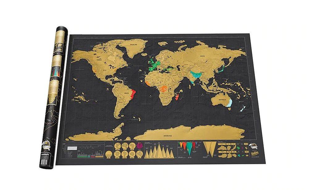Scratch off World Map (18)